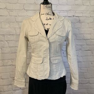 Adorable LIVE A LITTLE Jacket w/great top stitch!